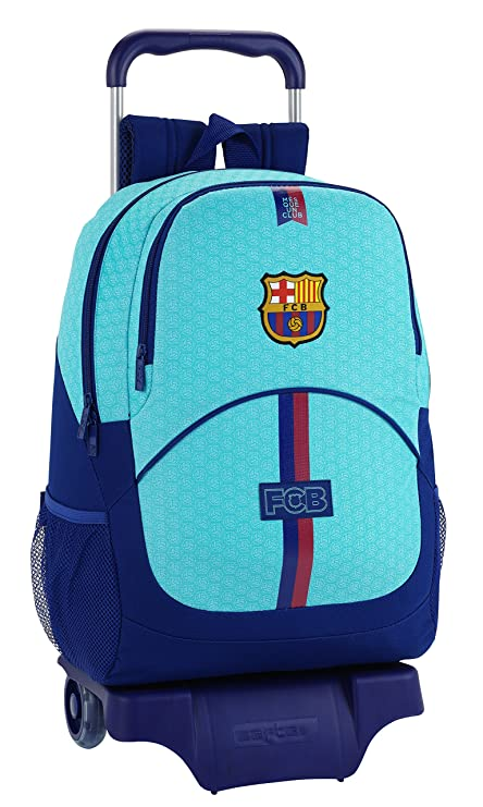 Amazon.com : FC Barcelona Blue Trolley 44cm Trolley 905 : Office Products