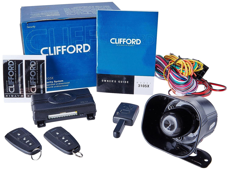 Clifford Matrix +1.2 1-Way Security Alarm System. 3105X
