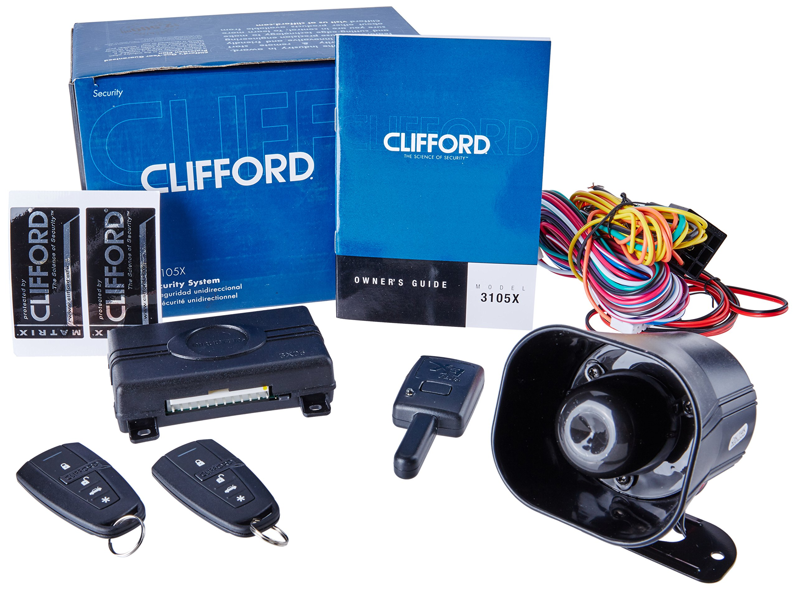 Clifford Matrix +1.2 1-Way Security Alarm System. by Clifford