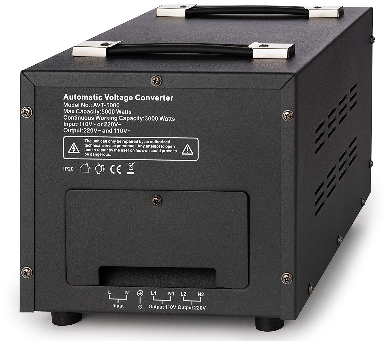 N/úcleo Toroidal Elevador//Reductor - 3000 Vatios Bronson 110V 120V 3000W Bronson++ AVT 3000 Transformador de 110//120 Voltios Convertidor de Voltaje EE.UU
