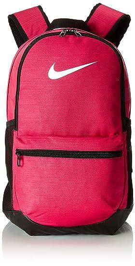 Nike Nk Brsla M Bkpk, Mochila Unisex Adultos, Rosa (Rush Pink/Black / Whit), 15x24x45 cm: Amazon.es: Deportes y aire libre