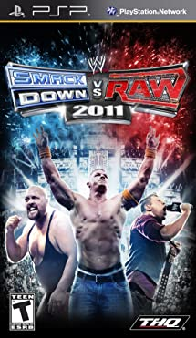 WWE SmackDown vs  Raw 2011 - Sony PSP: Video Games