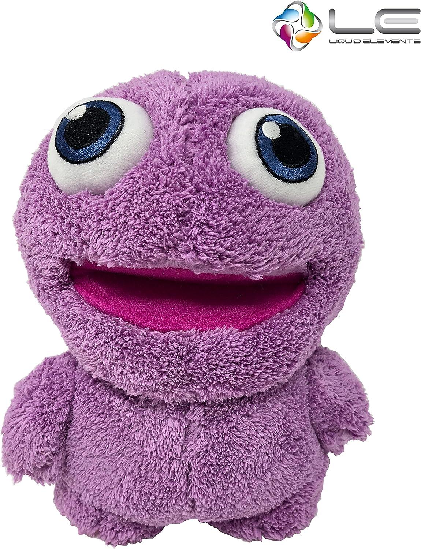 Liquid Elements Purple Monster Plüschtier Kuscheltier Auto