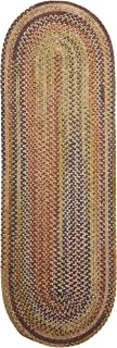 product image for Colonial Mills Rustica Braided Rug, 2 by 4-Feet, Grecian Green