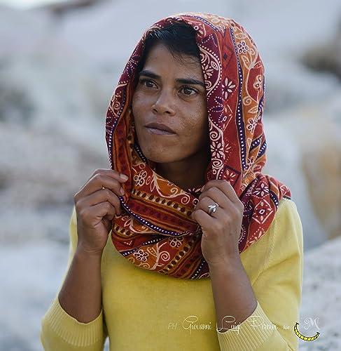 diseñador de moda último vendedor caliente estilos clásicos Bufanda capucha circular de algodón