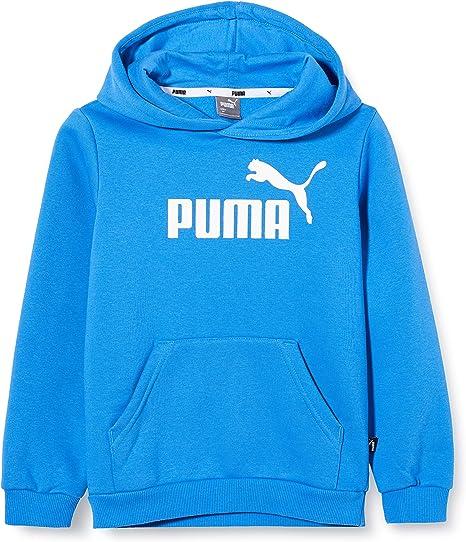 PUMA Jungen Sweatshirt Ess Logo Hoody Fl B: