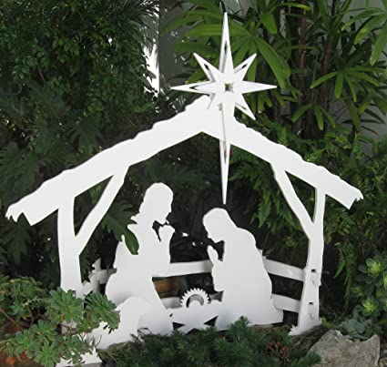 Amazon mynativity outdoor christmas nativity set medium mynativity outdoor christmas nativity set medium solutioingenieria Images