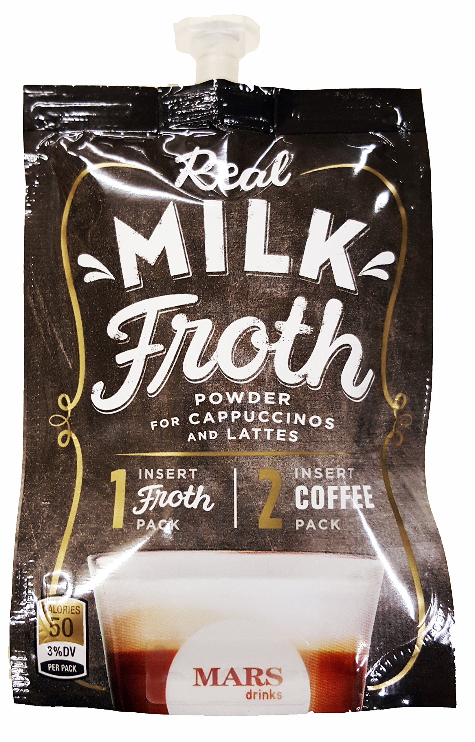 Mars Flavia Alterra Real Milk Froth, Original, 72 Count (Formerly Fabulous Froth)(Packaging may be vary) by Flavia