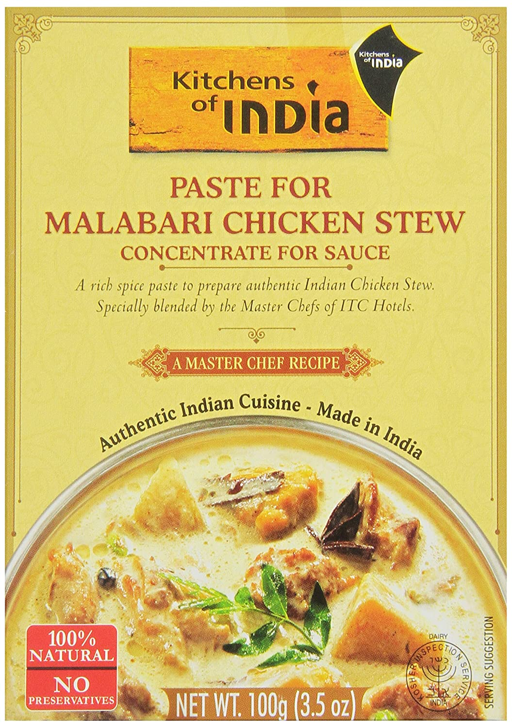 Captivating Amazon.com : Kitchens Of India Paste For Malabari Chicken Stew, 3.5 Ounce  (Pack Of 6) : Packaged Indian Dishes : Grocery U0026 Gourmet Food