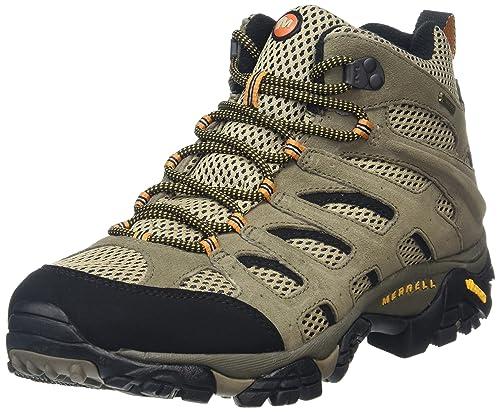 buy popular 2c022 fd0a3 Merrell Moab Mid GTX, Stivali da Escursionismo Alti Uomo