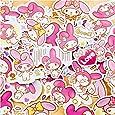 40pcs Creative Cute Kawai self-Made My Melody Scrapbooking Stickers/Decorative Sticker/DIY Craft Photo Albums
