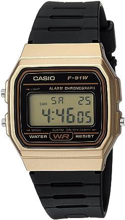Amazon.com: Casio Classic Modelo F-91WM-9ACF Reloj ...