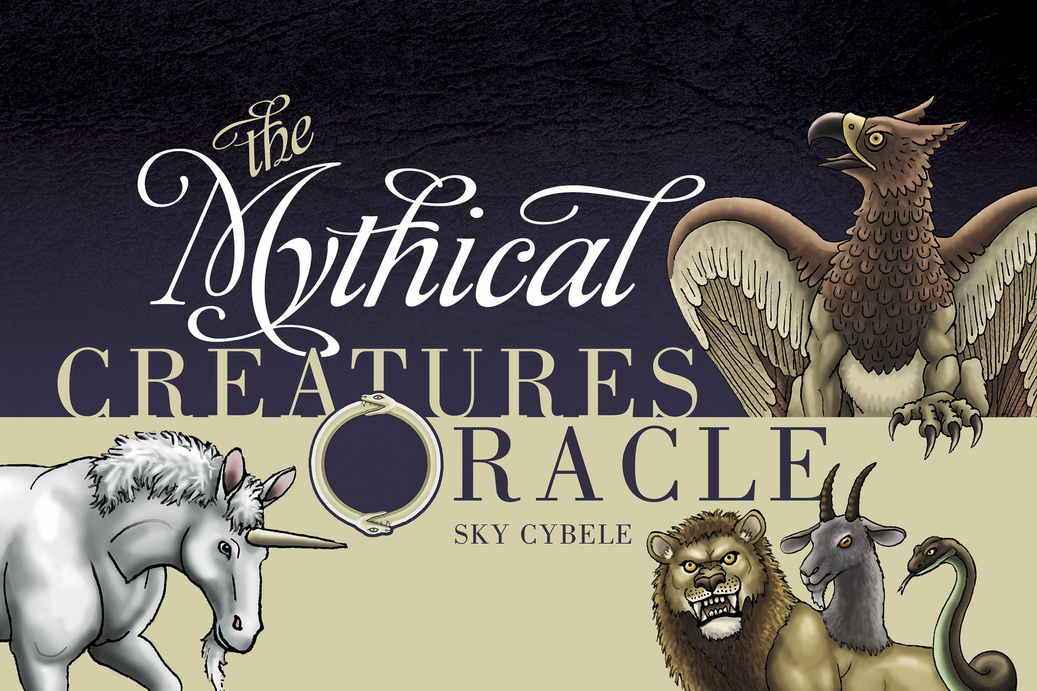 review the mythical creatures oracle booklet and deck