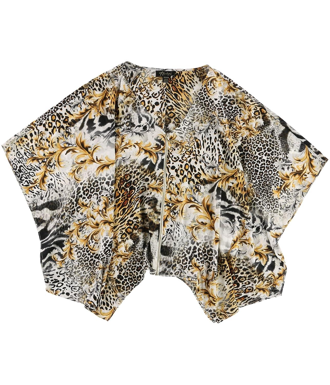 Thalia Sodi Womens Aymmetrical Cardigan Blouse