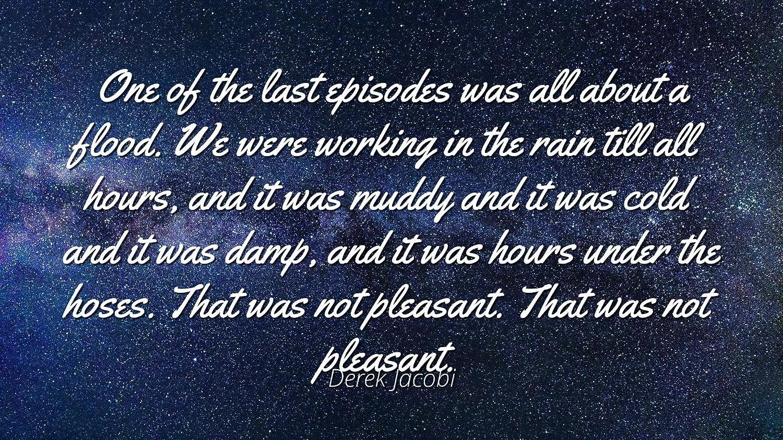 Amazon com: Derek Jacobi - Famous Quotes Laminated POSTER