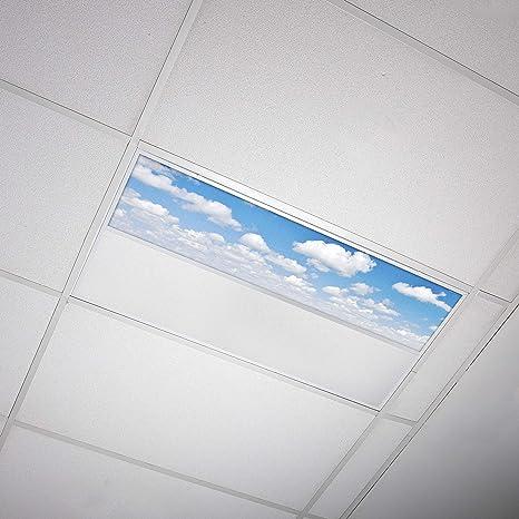 Octo Lights Fluorescent Light Covers 1x4 Fluorescent Light Filters Ceiling Light Covers For Classroom Kitchen Office 011 Amazon Com