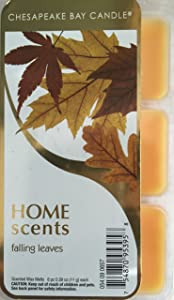 Chesapeake Bay Candle Home Scents Falling Leaves 6 pc Scented Wax Melts