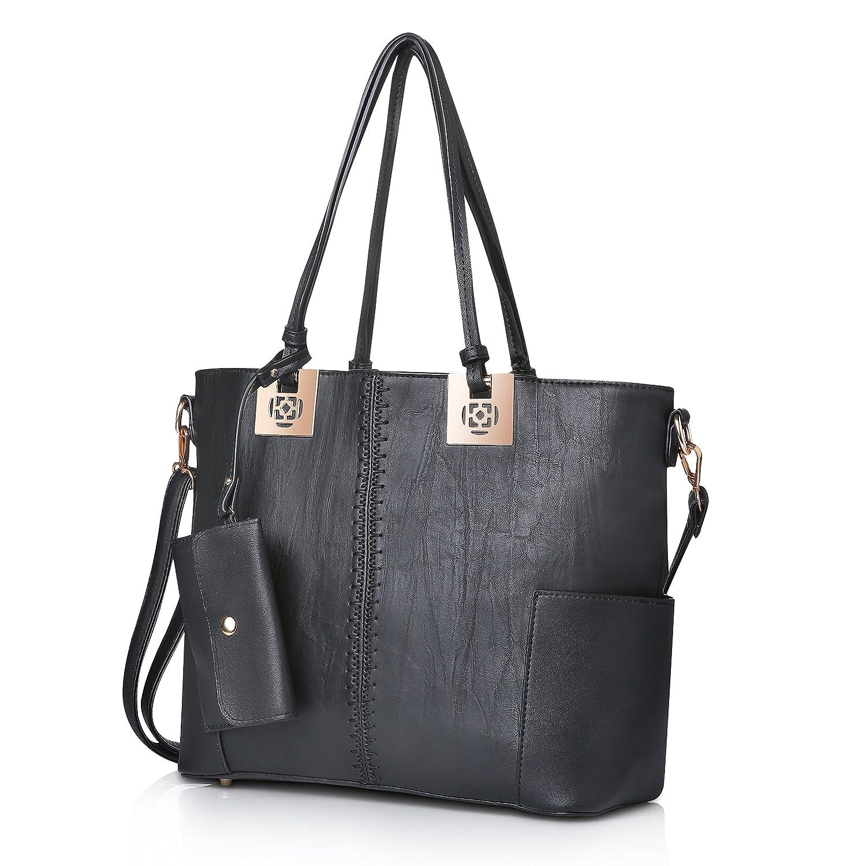 63d1c5262268af Amazon.com: Handbags for Women oteawe Purses and Handbags Casual Crossbody  Hobo Shoulder Bag Tote PU Leather Large Purses (Black): Shoes