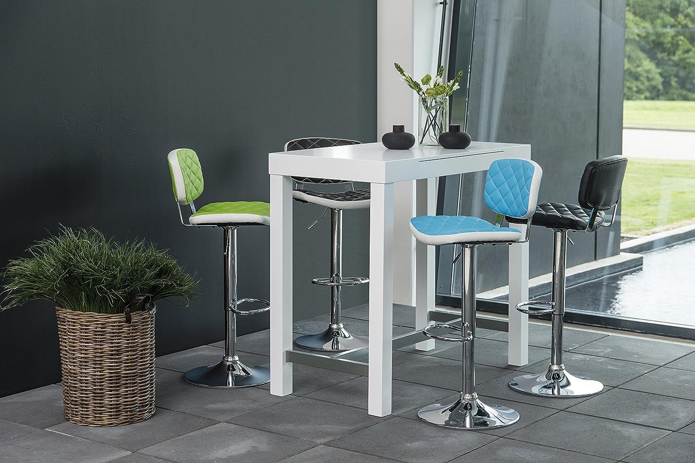 AC Design Furniture 59765 Bartisch Laura, Tischplatte und Gestell ...