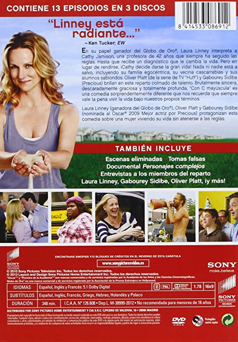 Amazon.com: Con C Mayúscula - 1ª Temporada (Import Movie) (European Format - Zone 2) (2013) Laura Linney; Oliver Platt;: Movies & TV