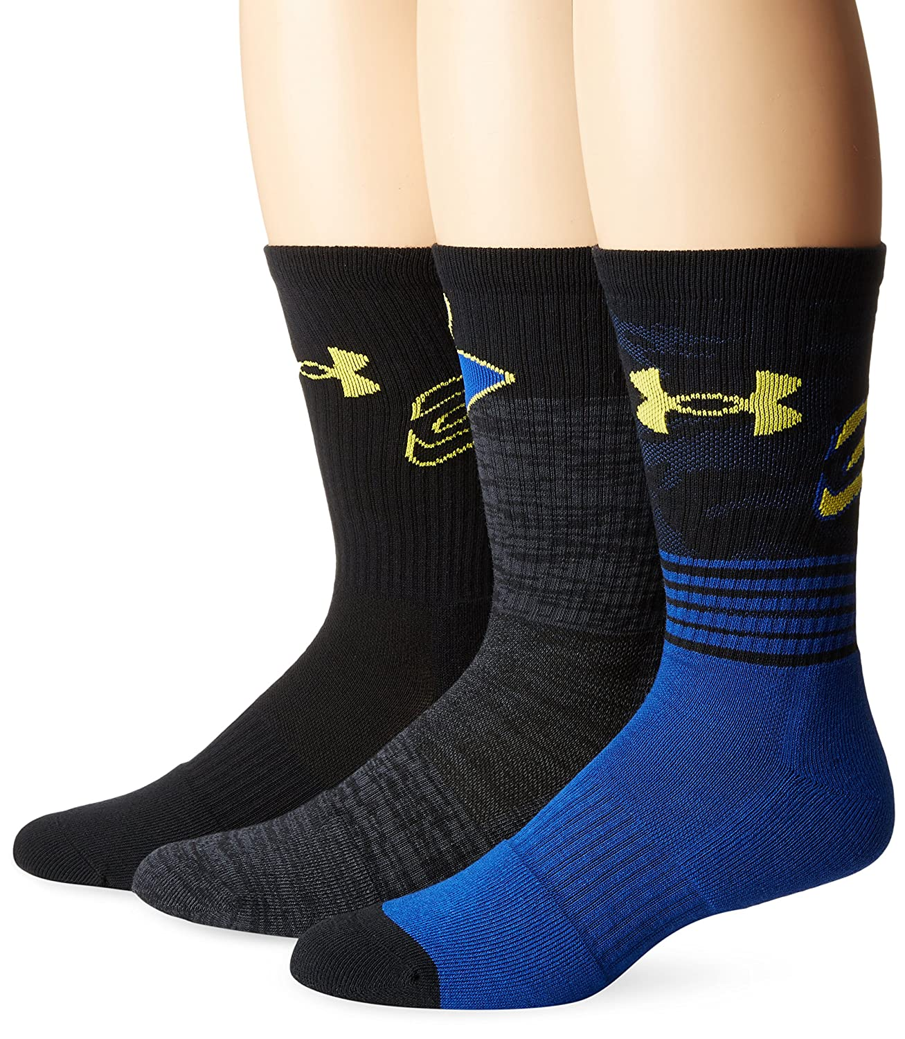 Under Armour Men\u0027s Phenom Curry Crew (3 Pack)