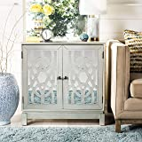 Safavieh Home Ashlynn Silver Mirrored 2-door Chest
