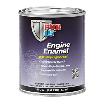 POR-15 42078 Chevrolet Blue Engine Enamel - 1 pint: Automotive
