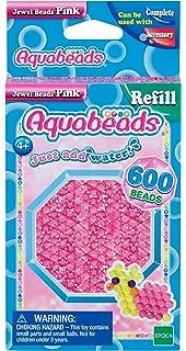 Aquabeads Gelbe Glitzerperlen 32688 Refill Epoch-Traumwiesen 600 Perlen