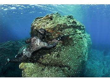 Cressi - Traje Pesca submarina mimetizado tracina 7 mm ...