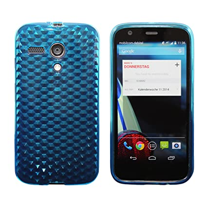 Luxburg Carcasa Funda para Motorola Moto G – Diferente Modelos Disponibles: Simple Silicona, Diamante, Inner Scrub, TPU, Funda rígida, Piel sintética ...