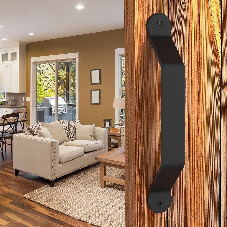 Elegante y Slick 10 Inch granero puerta mango tirador para puertas ...