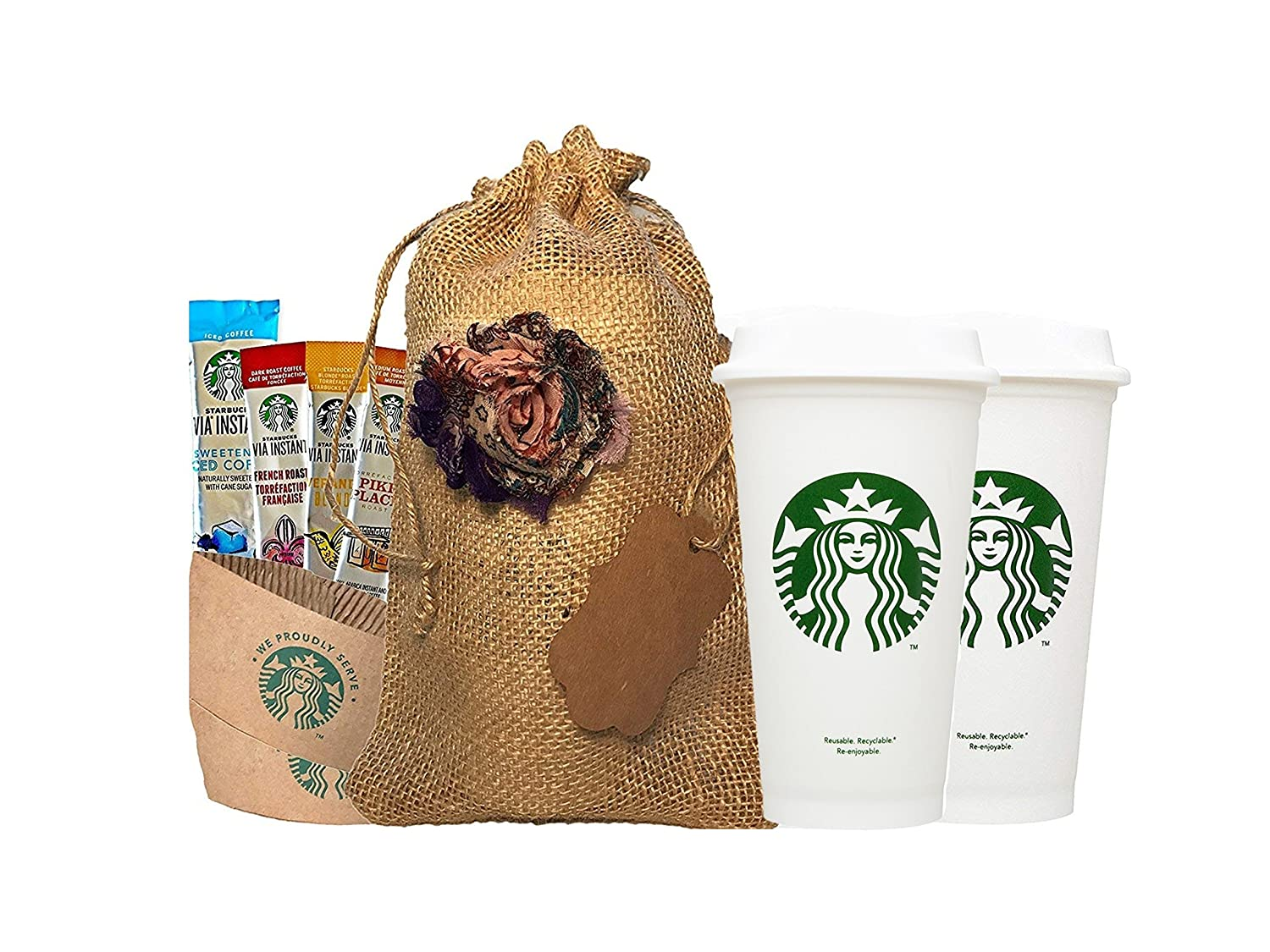 starbucks travel coffee gift set