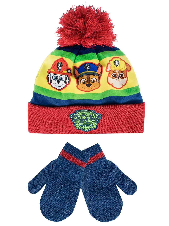 Paw Patrol - Set di capello e guanti del ragazzi