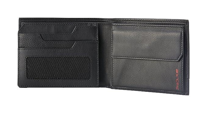 Samsonite Prod-DLX 4s RFID Billfold 8cc+2comp 5cc+VFL+2w+Coin+2c Monedero, 14 cm, Negro