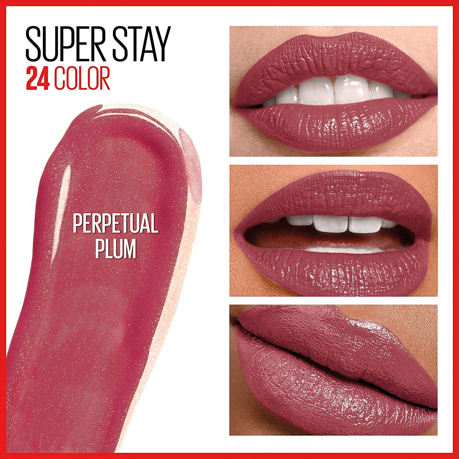 MAYBELLINE SuperStay 24 2 Step Lipcolor 055 Perpetual Plum