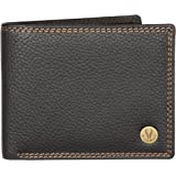 WildHorn® RFID Protected  Genuine High Quality Leather Wallet for Men(BLACK)