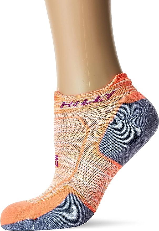 Hilly Mens Lite-Comfort Socklet Blue Sports Running Breathable Lightweight