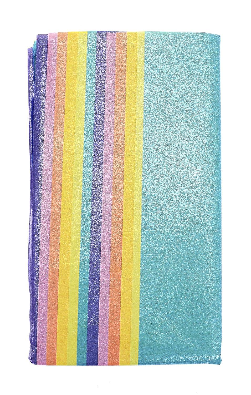 CI Luster Lites Seidenpapier, 50 x 76 cm, Farben: Zitrone / Aquamarin / Mandarine / Wassermelone / Immergrü n, 12 Stü ck Creativity International Limited 5896-8