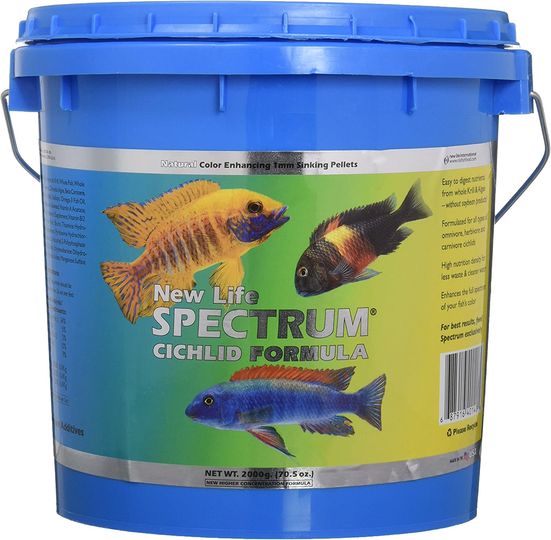 New Life Spectrum Cichlid Formula - 2000 g (70.5 oz)