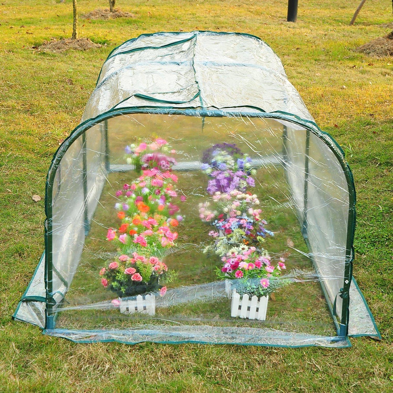amazon com outsunny 01 0468 portable backyard flower garden