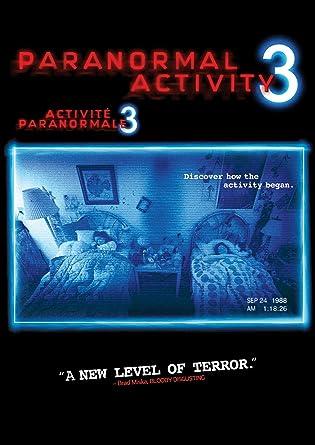 Paranormal Activity 3 Amazon Co Uk Dvd Blu Ray