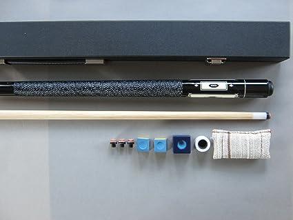 new concept 43cc4 4ed5f famousworld Pool-Billard-Queue Ambassador 200 Black mit Koffer und ZUBEHÖR