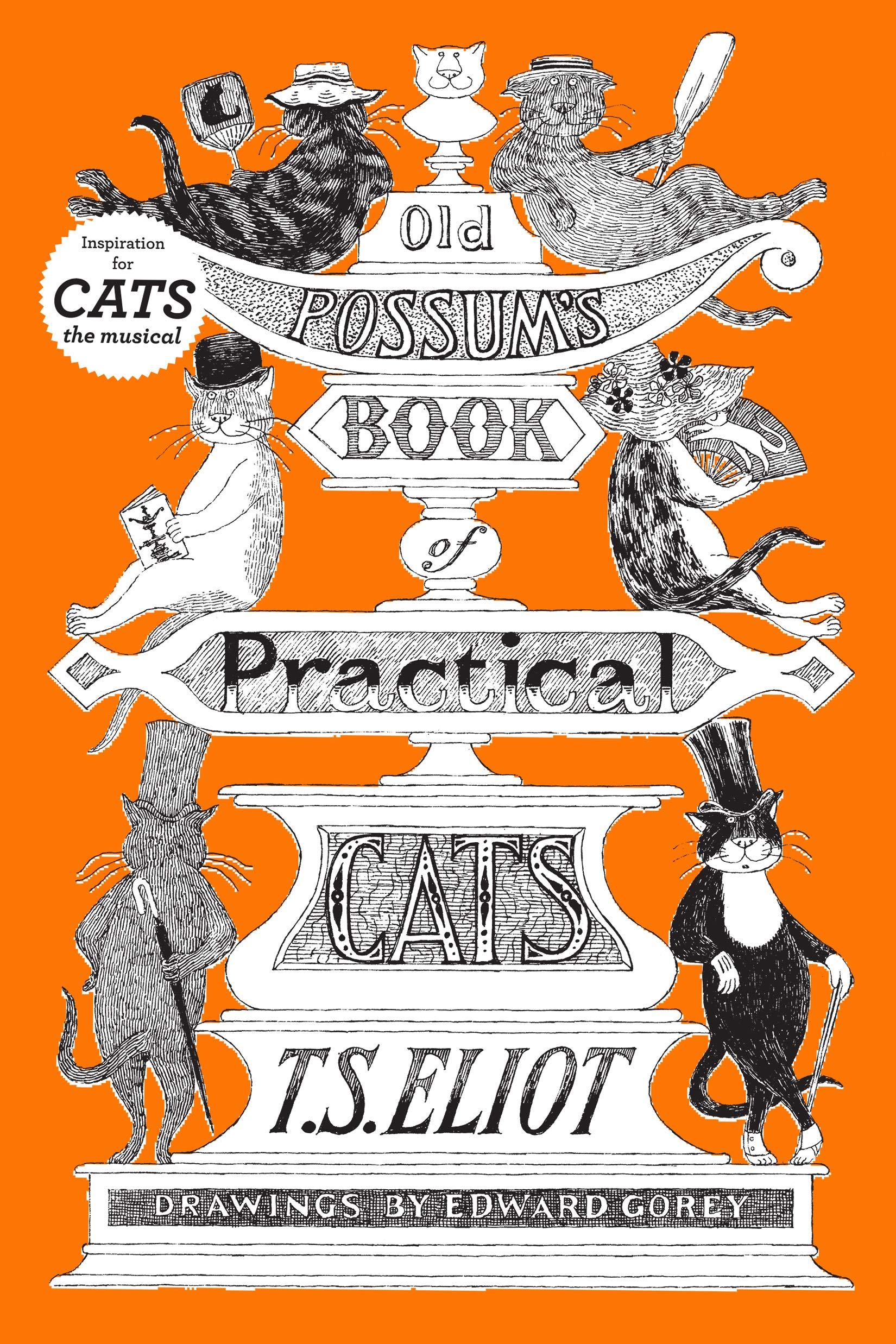 Old Possum's Book Of Practical Cats Illustrated Edition