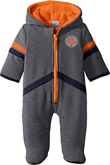 Baby Boys Faux Fur Fleece Pram U.S Polo Assn