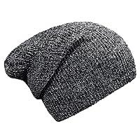 DonDon Bonnet hommes et femmes Slouch Beanie pour l'hiver avec design classique et moderne