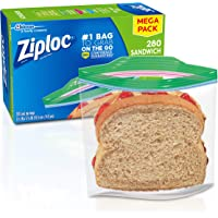 Deals on 280-Count Ziploc Sandwich Bags
