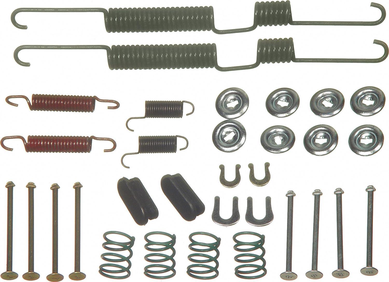 Rear Wagner H17183 Drum Brake Hardware Kit