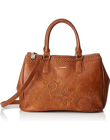 a0f743001 Desigual Bag Dark Amber Cabo Women Carteras de mano con asa Mujer