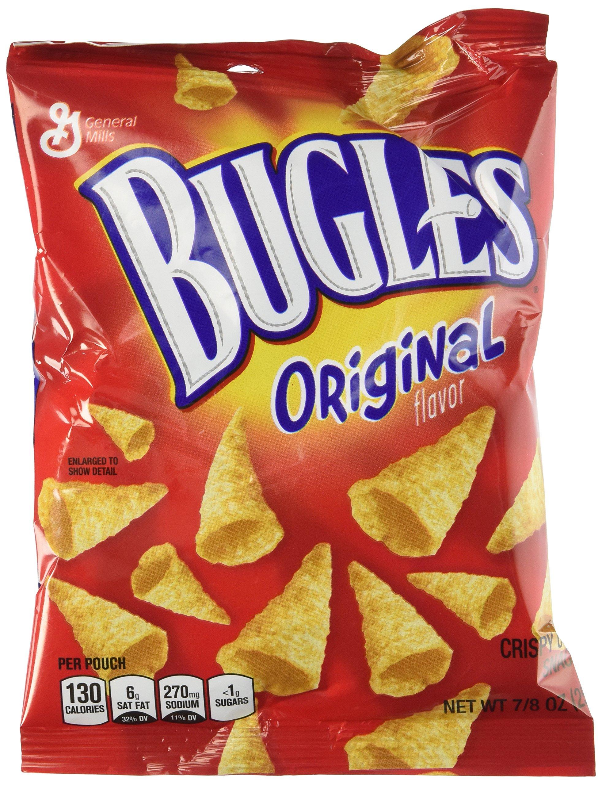 Bugles Original Flavor 30 Bags Net Wt 1 Lb 10.3 Oz