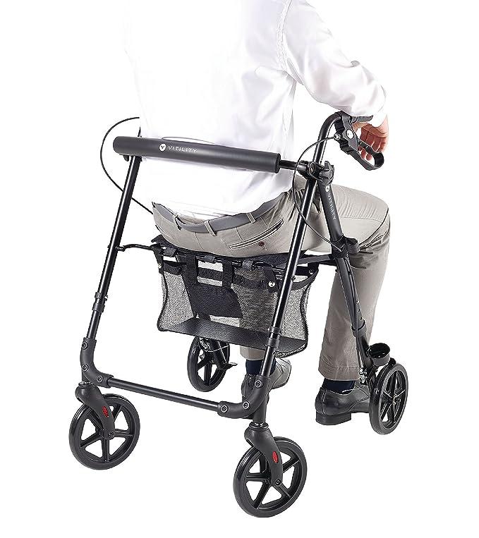 Eurosell - PREMIUM plegable Rollator - Andador ancianos ...